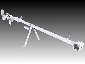 3D ptrd-41 rifle