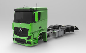 mercedes actros 2017 3D model