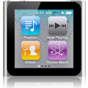 6th generation ipod nano 3D model