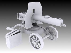 3D 1910 maxim