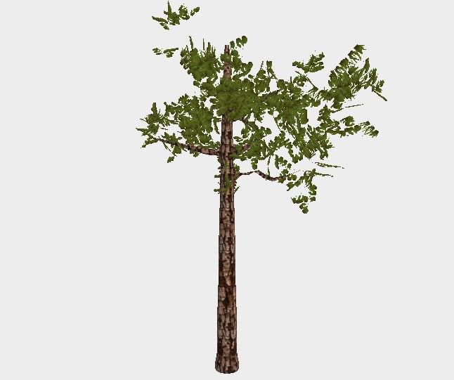 tree blender unity3d model