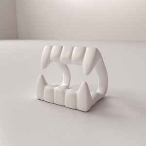vampire tooth model