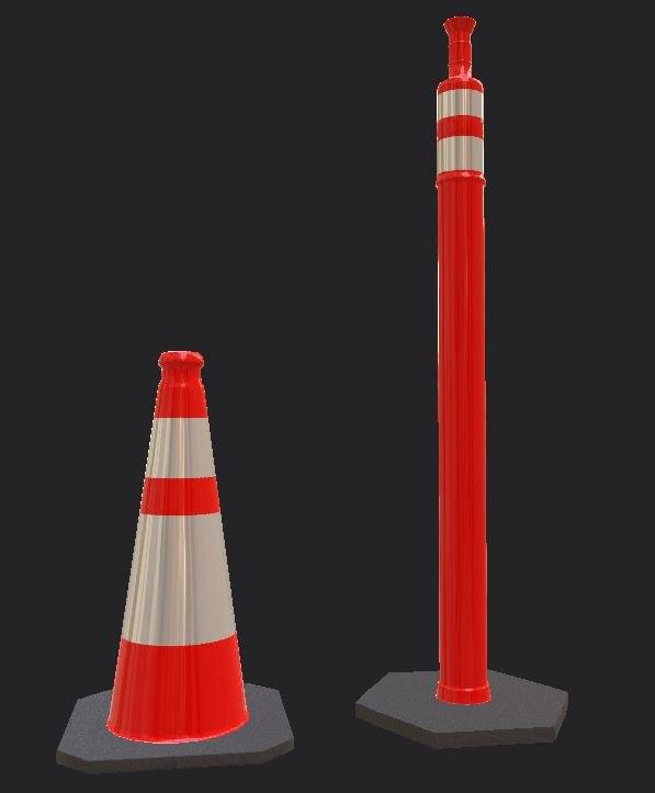cones 3D model