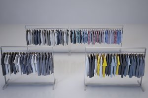 cloths 3D model