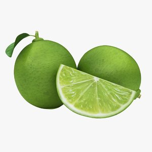 3D realistic small lime