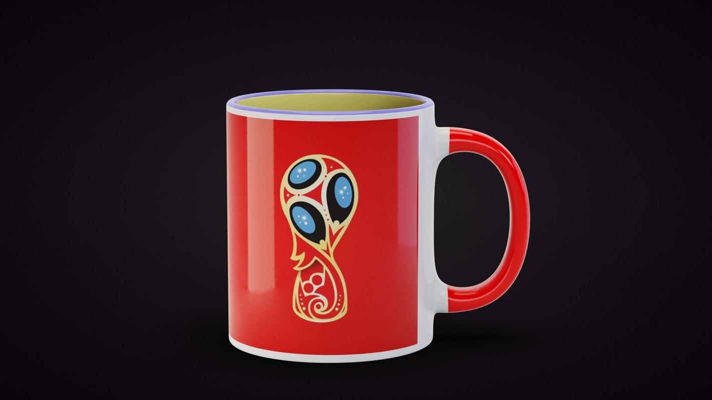 3D mug highpoly pot