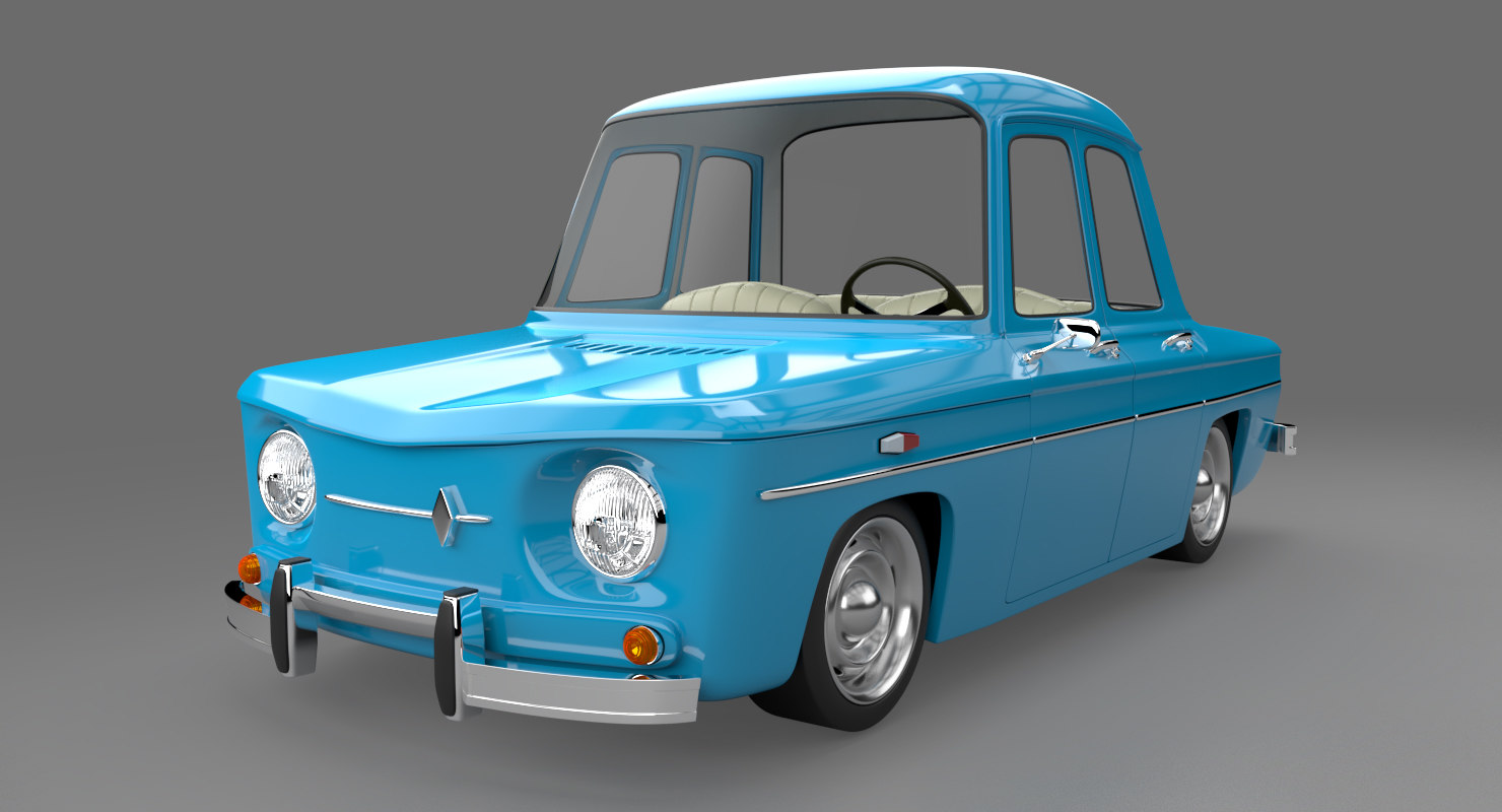 toon car 3D model