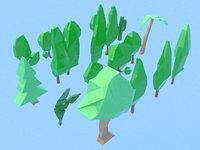 20 trees 3D