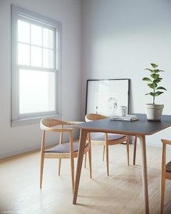 simple interior scene model