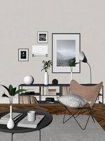 3D interior design scene setup