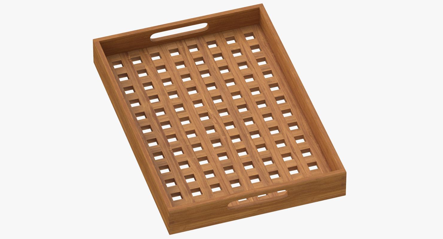 3D model modern tray