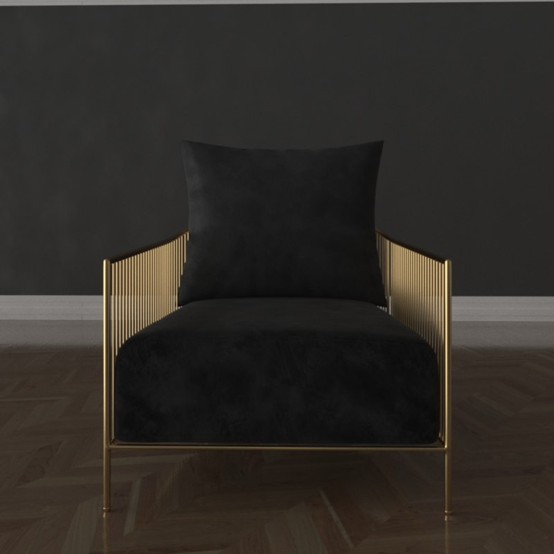 chair knox 3D model