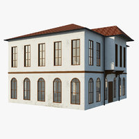 old arabic house 3D model
