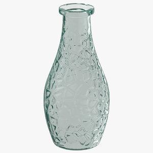 glass vase 3D