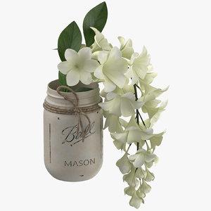 flower jar 3D model