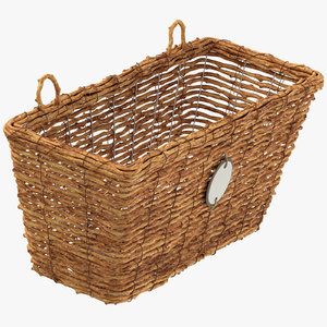 3D weaved basket model