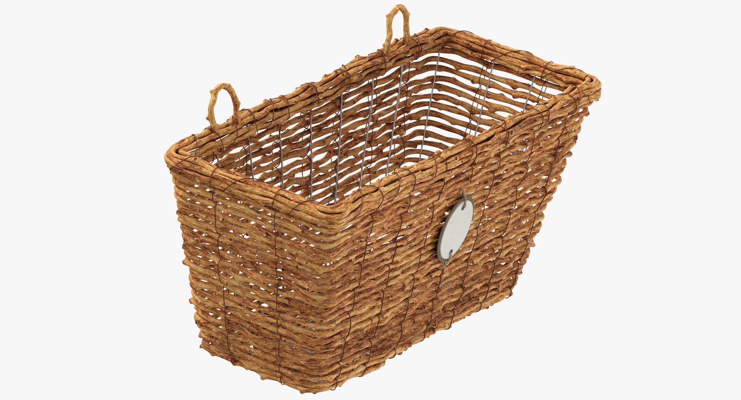 3D weaved basket model