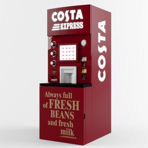 3D costa express machine