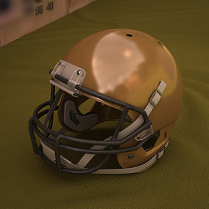 football helmet model