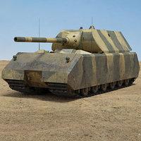 panzer viii ii 3D model