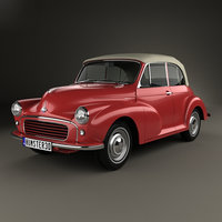 minor 1000 1956 3D model