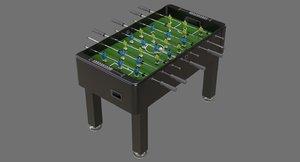 foosball 1a 3D model