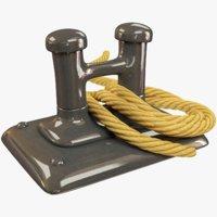 bitt rope 3D model