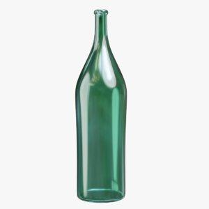 quarter bottle 3D