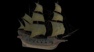ship 1577 revenge model