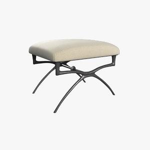 3D atlante bench