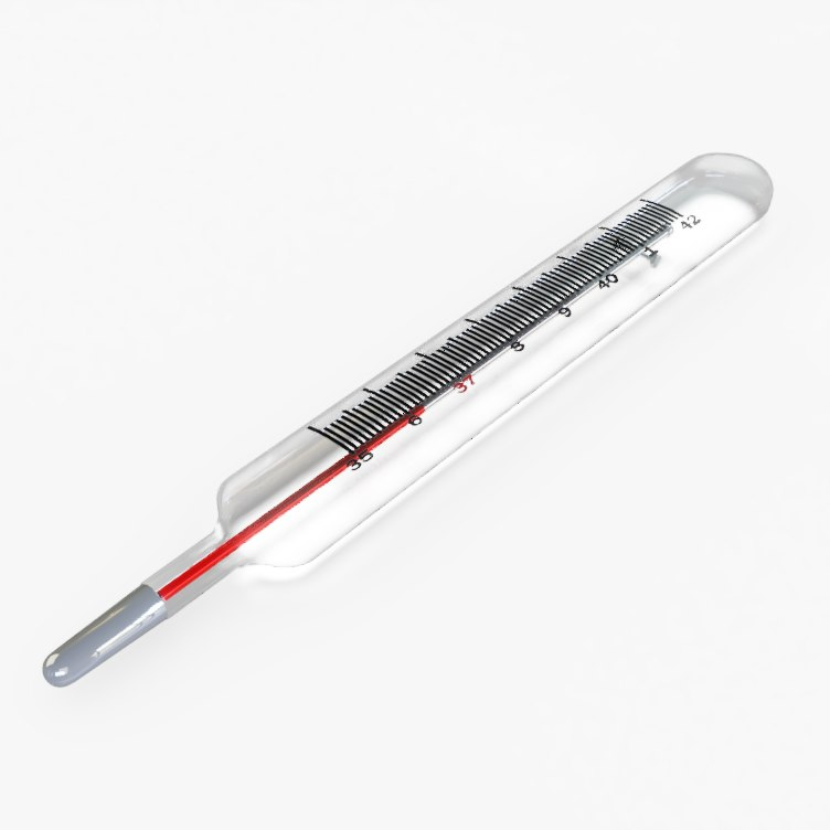 thermometer 3D