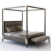 3D clarendon canopy bed