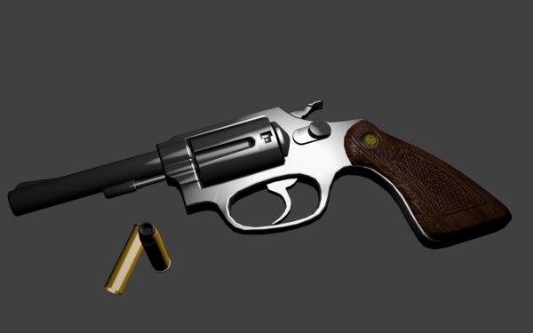 revolver 38 3D