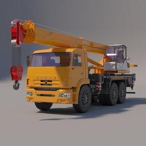kamaz crane model