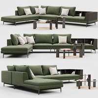 3D ditreitalia kim sofa model