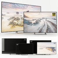 tv sony kd 3D model
