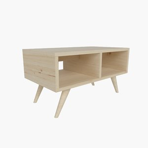 contempoary coffee table 01 3D