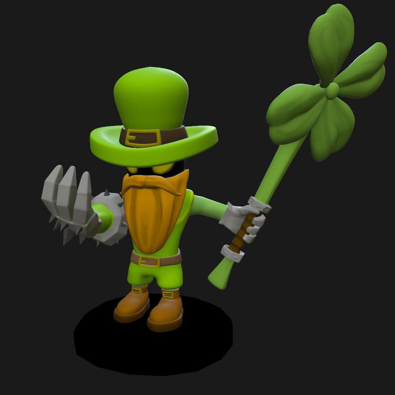 3D model league legends veigar leprechaun