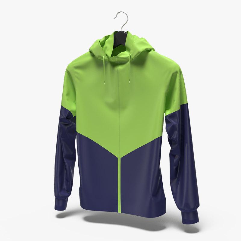 3D female sport jacket hanger