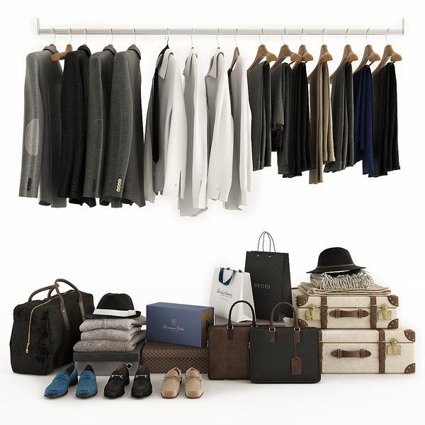 clothing wardrobe 3D model