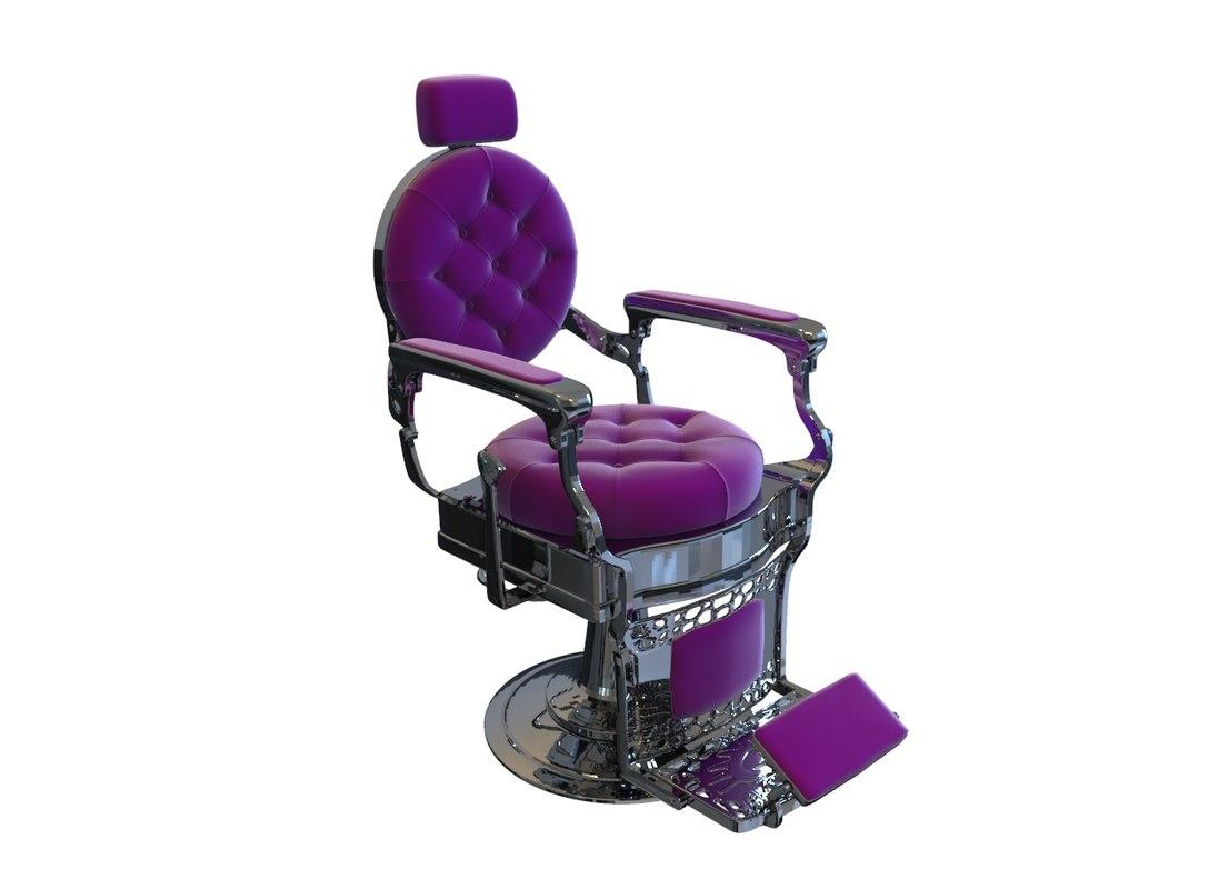 saloon chair 3D model