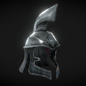 skyrim imperial officer helmet model