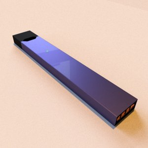 juul e-cig 3D model