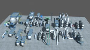 industry tanks 3D