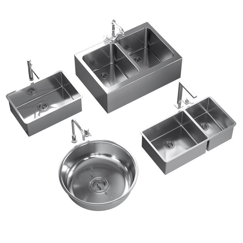3D sinks mixers 1