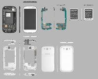 samsung galaxy neo s3 3D model