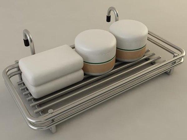 accessory rack 3D model