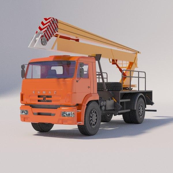 agp autotowers - 3D model