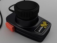 3D atari paddle controller model