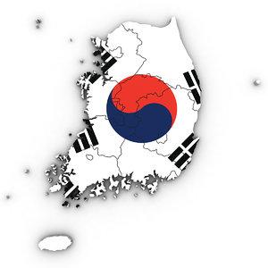 3D south korea